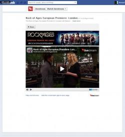 Live video fanpage Facebook