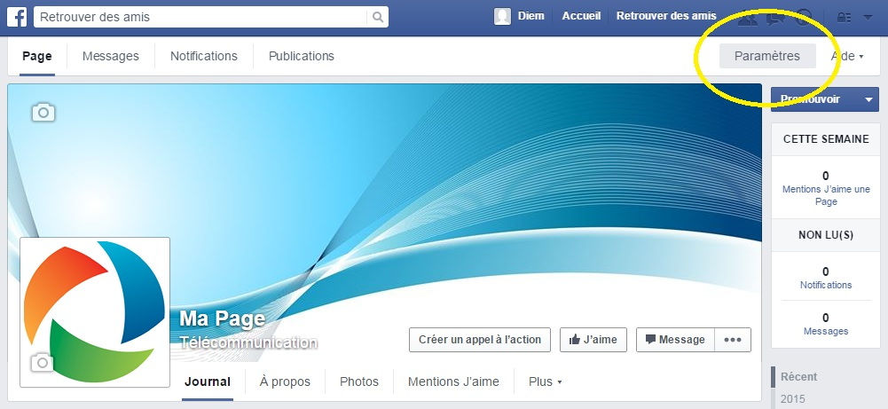 message facebook supprimé