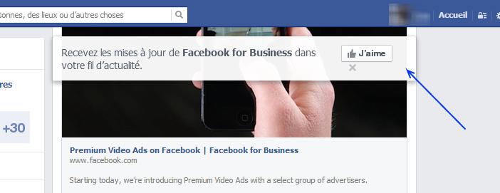 Bulle Like Facebook