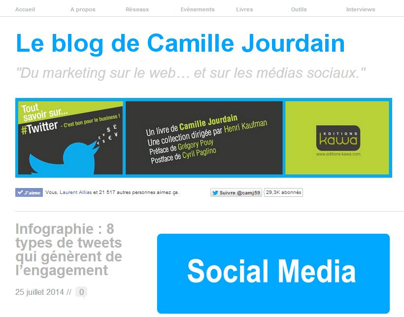 camille jourdain blog