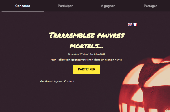 Instant Gagnant Polymer Halloween