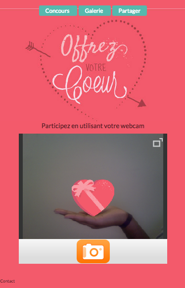 Saint Valentin selfie