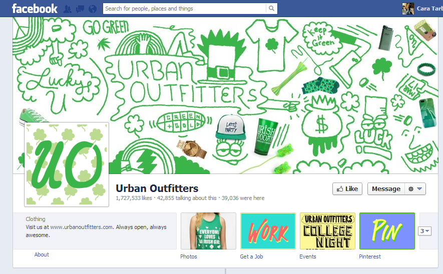 Urban Outfitters Green