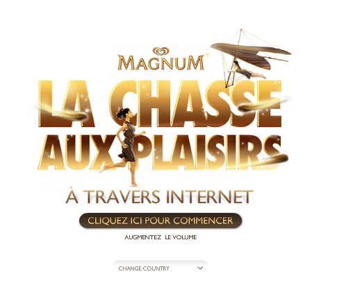 Jeu marketing Magnum