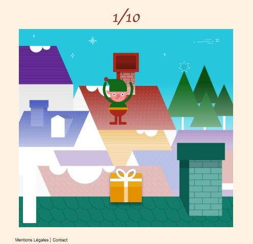 10 id es de jeux marketing pour no l - Pere noel interactif ...