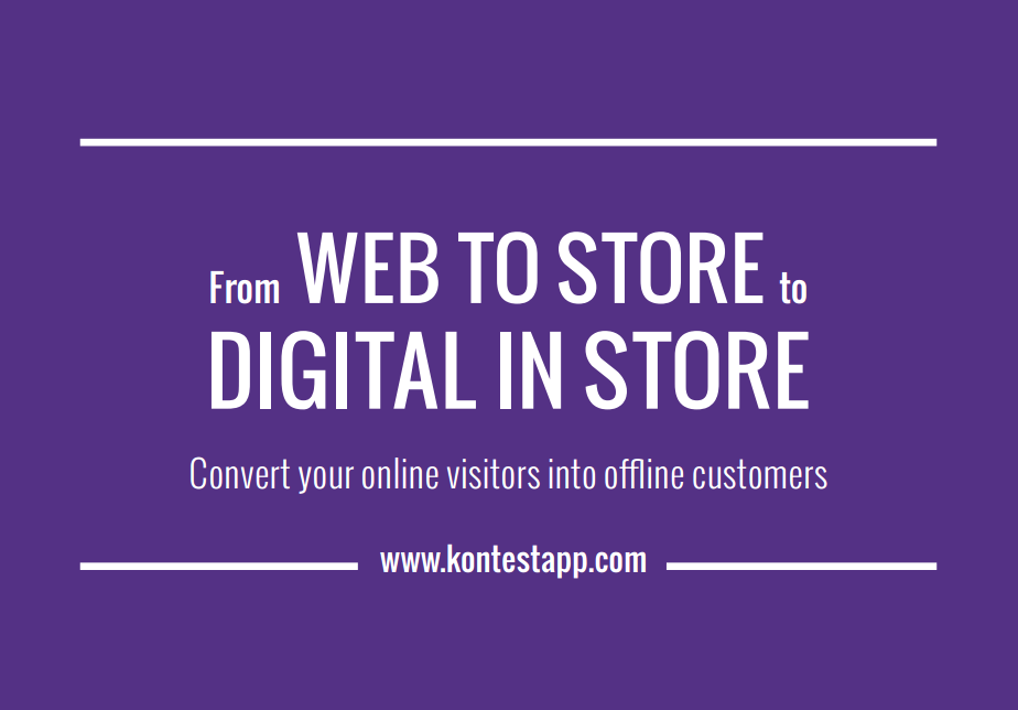 White paper From Web to Store to Digital in Store