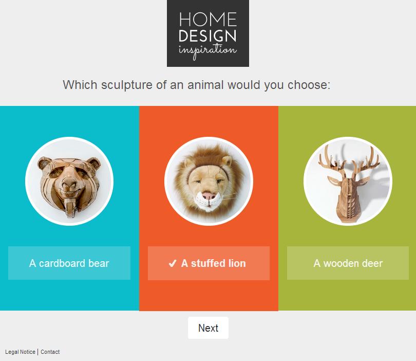 Free contest app design