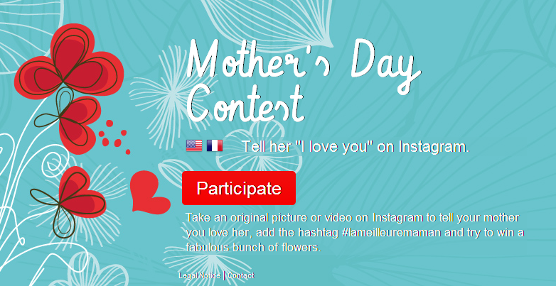 Instagram contest mother's day